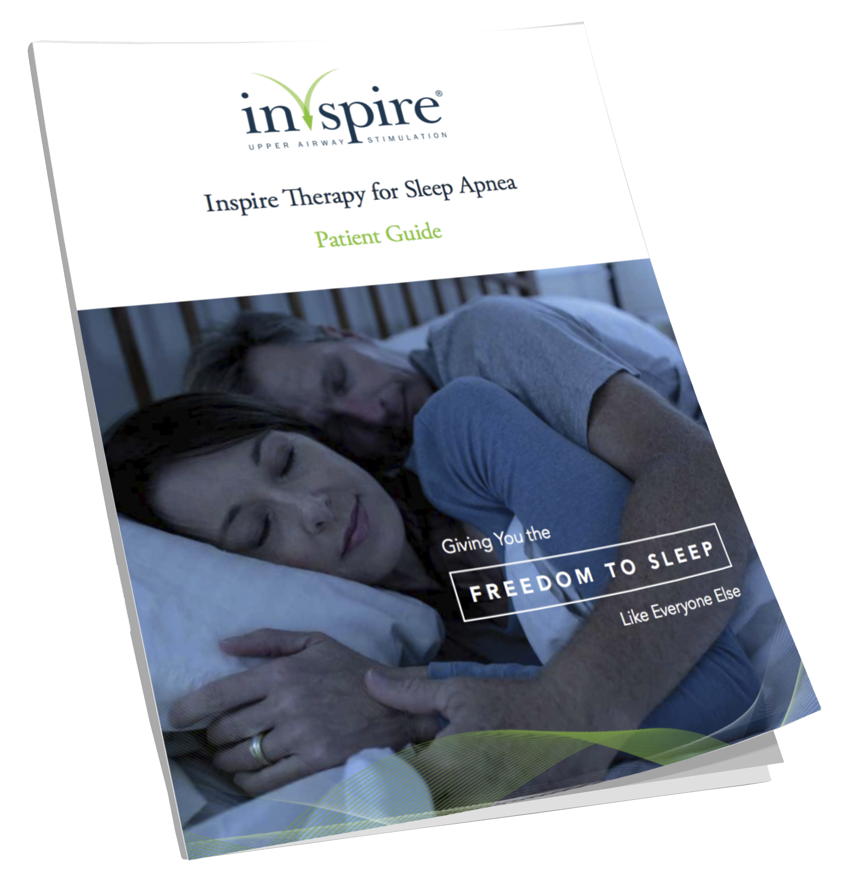 Inspire Therapy Patient Guide Cover